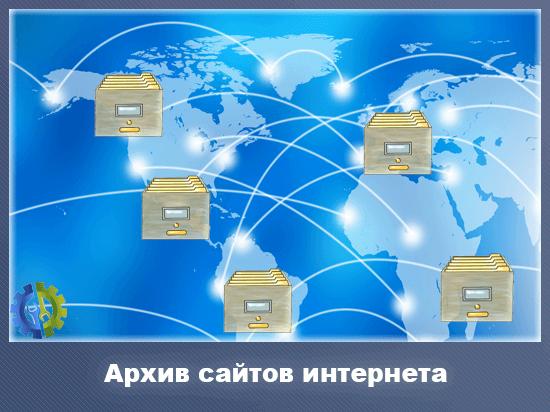 Архив сайтов интернета