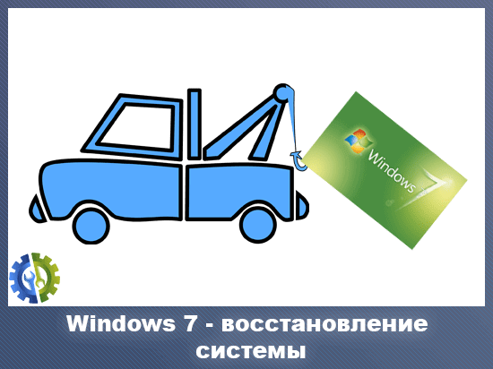 Windows 7 - восстановление системы